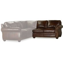 Bradington Young Sterling RAF Stationary Loveseat 8-Way Tie 221-58