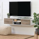 56\ - Pure White and Weathered Oak Product Image