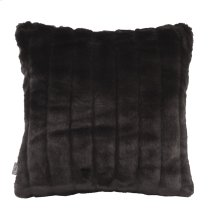 "16"" x 16"" Pillow Mink Black"