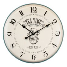 Breakfast Mood Wall Clock