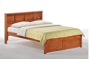 Butterscotch Bed in Cherry Finish - full size