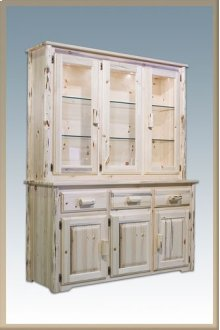 Montana Log China Hutch