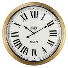 Union Station Wall Clock