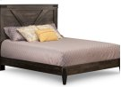 Chattanooga Queen Bed with 14'' Wrap Around Footboard Product Image