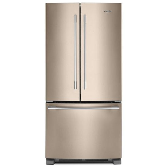 Whirlpool Whirlpool(R) 33 Inch Wide French Door Refrigerator   22 Cu. Ft.    Sunset Bronze