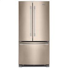 Whirlpool® 33-inch Wide French Door Refrigerator - 22 cu. ft. - Sunset Bronze