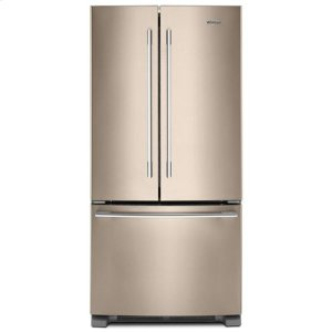 WHIRLPOOLWhirlpool(R) 33-inch Wide French Door Refrigerator - 22 cu. ft. - Sunset Bronze