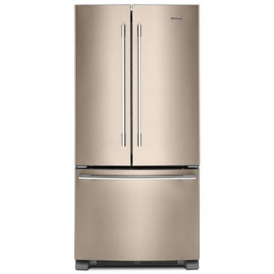 Whirlpool® 33-inch Wide French Door Refrigerator - 22 cu. ft. - Sunset Bronze Product Image