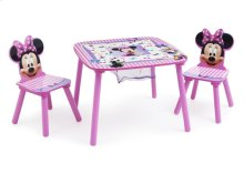 Minnie Mouse Table & Chair Set with Storage - Style 1