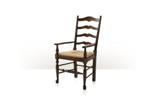 Victory Oak Ladderback Armchair