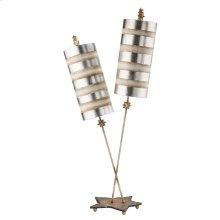 Nettle Luxe Silver Table Lamp