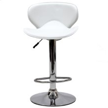 Booster Bar Stool in White