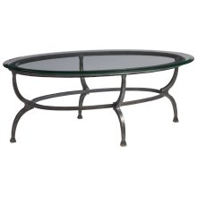 Patois Oval Cocktail Table