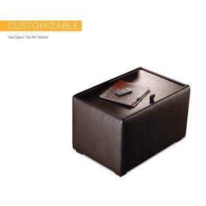 Salamander DesignsCache End Table, Standard Leather