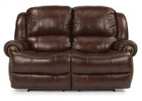 Capitol Leather Power Reclining Loveseat Product Image