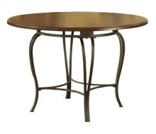 "Montello Round Dining Table 45"" Faux Wood Top Only - Ctn B"