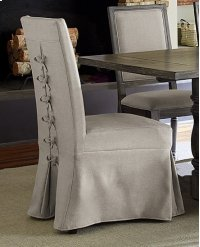 Uph Parsons Chair w/Cover (2 per ctn) - Weathered Pepper Finish Product Image