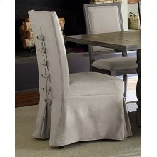 Uph Parsons Chair w/Cover (2 per ctn) - Weathered Pepper Finish
