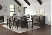 Madison County High/low Table With 4 Stools - Barnwood Product Image