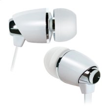 White in-ear stereo headphones by Bell'O Digital