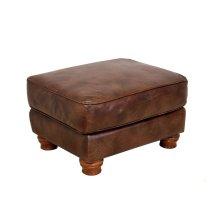Ottoman in Rustic Rust