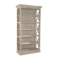 Weathered Open Bookcase
