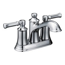 Dartmoor chrome two-handle bathroom faucet