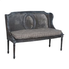 HERITAGE CANED BENCH