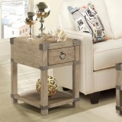 Myra - Chairside Table - Natural Finish