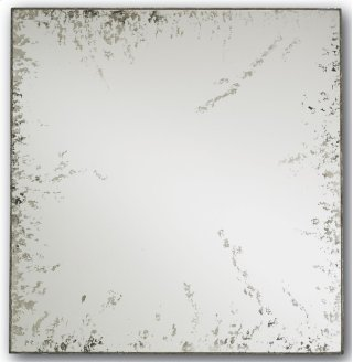 René Mirror, Square - 24sq x 1-1/4d