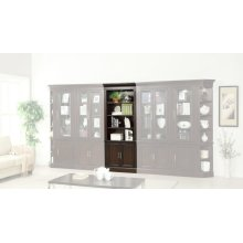 Stanford 32 in. Open Top Bookcase