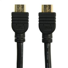 High Speed HDMI Cable with Ethernet 1.5ft (.5m)