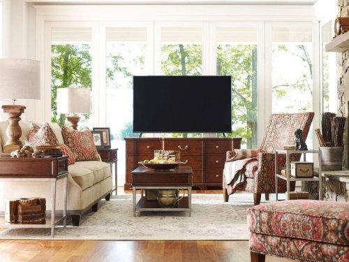 Rachael Ray by Craftmaster Living Room Stationary Sofas, Three Cushion Sofas
