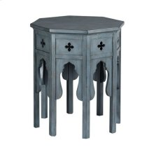 Hidden Treasures Hex End Table