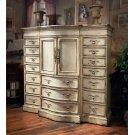 Hunt's Media/Linen Cabinet with Half Doors Product Image