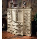 Hunt's Media/Linen Cabinet with Half Doors Product Image