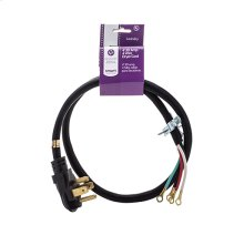 Smart Choice 4' 30-Amp. 4-Prong Dryer Cord