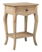 Promenade Side Table with Drawer and Shelf (17.75X13X25.5) Product Image