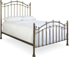 Vintage Chateau Metal Bed (King)