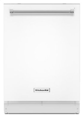 39 dBA Dishwasher with ProScrub Option - White