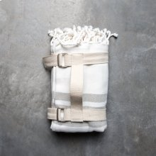 Picnic Throw with Carry Strap - Fog