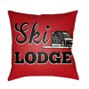 "Lodge Cabin LGCB-2041 16"" x 16"""