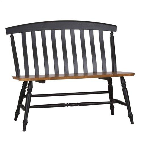 Slat Back Bench