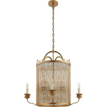 Visual Comfort NW5026GI Niermann Weeks Sophie 8 Light 30 inch Gilded Iron Chandelier Ceiling Light, Niermann Weeks, Large