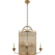 Visual Comfort NW5026GI Niermann Weeks Sophie 8 Light 30 inch Gilded Iron Chandelier Ceiling Light, Niermann Weeks, Large