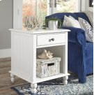 End Table Beach White Product Image