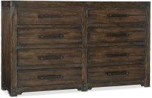 Roslyn County Eight-Drawer Dresser