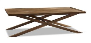 Crawford X-Base Coffee Table