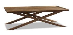 Crawford X-Base Coffee Table