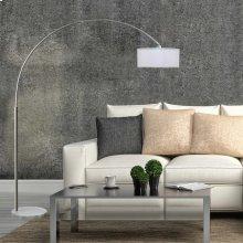 6938 White Floor Lamp